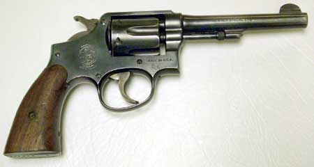 S&W Post-war M&P 38 Revolver