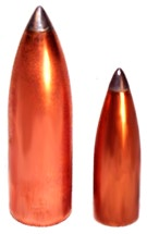 Lead tip bullet made with 4-die LTFB-4 set