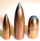 Lead Tip Flat Base bullets