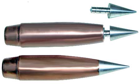 Spitzer Bullet Shapes